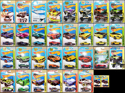 2014 Hot Wheels Cars and Trucks Pick Your Car(s) See Description