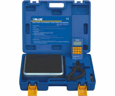 Value 50Kg Refrigerant Recovery Digital Charging / Charge Scale With Valve