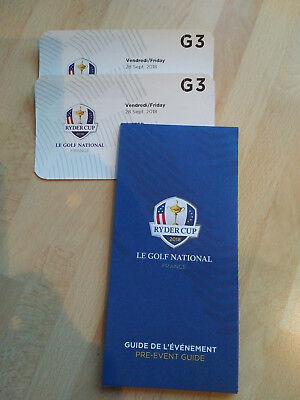 2x Ryder Cup Ticket 2018 Freitag 28.09.