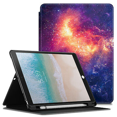 """For iPad Pro 10.5"""" 2017 with Apple Pencil Holder Multi-Angle Viewing Case Cover"""