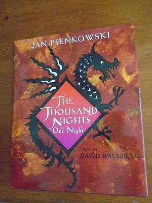 1001 Thousand Nights and One Night Jan Pienkowski artwork, David Walser $0 SHIPG