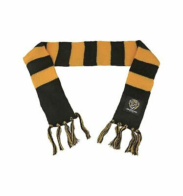 Richmond Tigers Official AFL Chunky  Infant Baby Scarf
