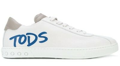 cheap for discount b6976 68043 TOD'S SCARPE UOMO Logo Patch Sneakers Made In Italy Xxm0Xy0Y170Ixl