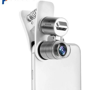 Universal Mobile Phone Microscope Macro Lens 60X Optical Zoom Magnifier