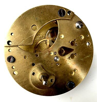 Rare Small Fusee Movement For Spares