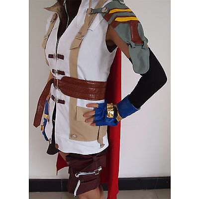 Brand new Final Fantasy XIII Lightning Halloween Cosplay Costume size XL