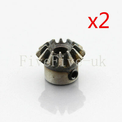 2pcs 1.5M12T Metal Umbrella Bevel Gear Helical Motor Gear 12 Tooth 6mm/8mm Bore