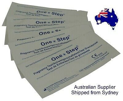 20 Pregnancy Test Strips Early 10mIU Tests Urine Testing Kits One Step