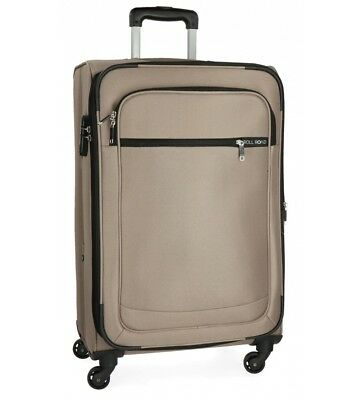 Roll Road - Maleta mediana Roll Road Trail -42x67x26cm- Beige  Casual Poliéster