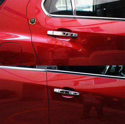 Chrome Stainless Steel Door Handle Cover Set For Cruze Captiva Sonic