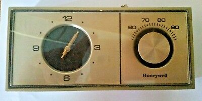 chronotherm honeywell thermostat T882A 1047 1 vintage from the 70s!!  RARE