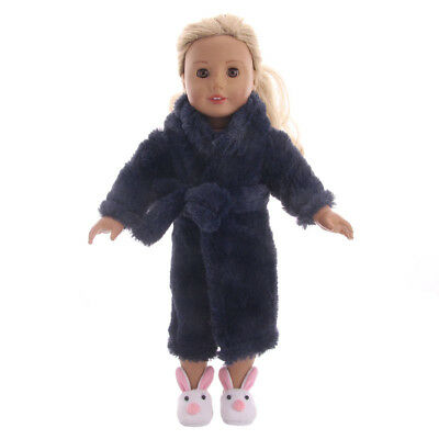 2018cute! Winter pajamas suit for 18 inch American Girl doll n475