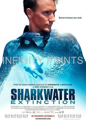 Sharkwater Extinction Movie Film Poster A3 A4