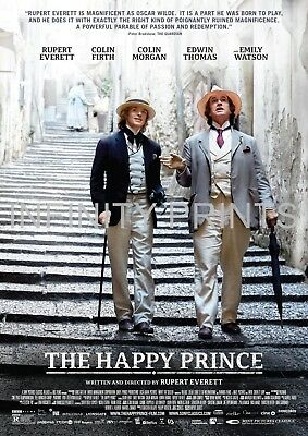 The Happy Prince Movie Film Poster A3 A4