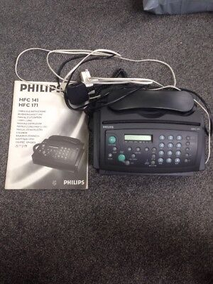 Phillips Fax Machine Working