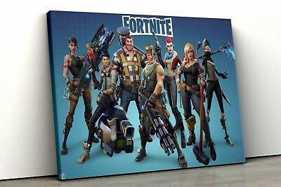 Battle Royale kids fort Game nite Box Canvas Wall Art Print Picture pp58