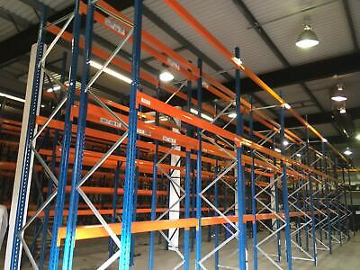 Polypal Heavy Duty Industrial Commercial Warehouse Pallet Racking Bay