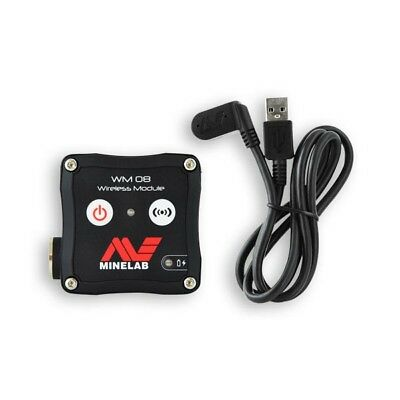 Minelab WM 08 Wireless Audio Module for Equinox