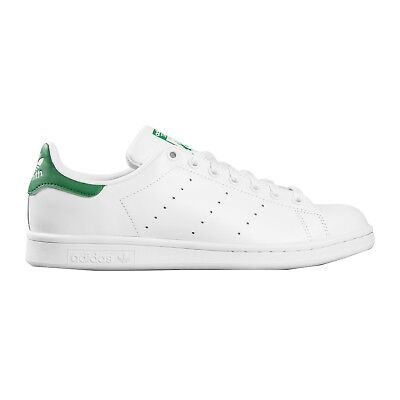 ADIDAS STAN SMITH BIANCO VERDE Sneakers Sportive Scarpe Uomo Donna tennis  M20324 46c122adfb0