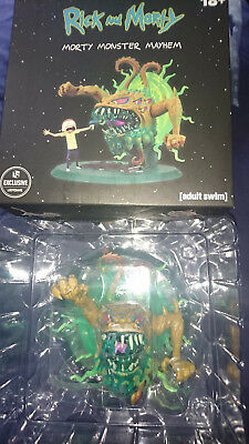 Rick and Morty Lootcrate Exclusive Morty Monster Mayhem Figure