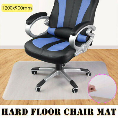 1200X900mm Carpet Hard Floor Chair Mat Home Office Computer Work PVC Protector