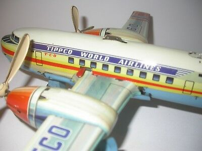 Tippco airplane DC3 World Airlines in sheet.