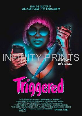Triggered Movie Film Poster A3 A4