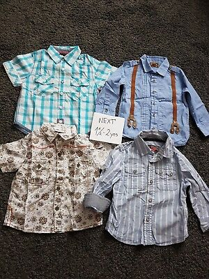 NEXT boys shirts 18-24 months.Excellent condition.