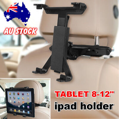 """Universal Car Mount Seat Headrest Stand For iPad Samsung Tablet 8-12"""" AU SELLER"""