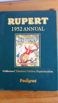 Collectors Edition  Rupert Annual 1952