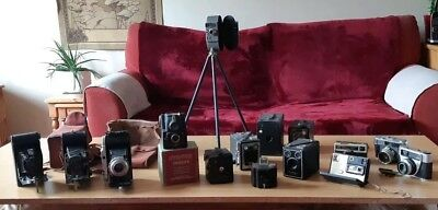 Job Lot Vintage Cameras and Accessories