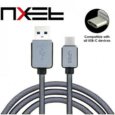 NXET USB C 3.1 Type-C Data Snyc Charger Lead,Strong Braided Fast Charging Cable