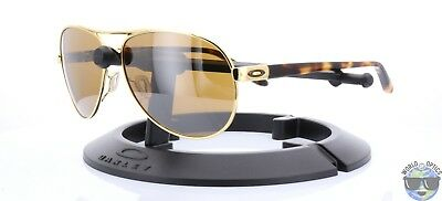 Oakley Feedback Women's Sunglasses OO4079-04 Polished Gold w/ Tungsten Iridium