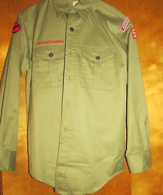 Vintage Boy Scout Uniform, Includes Shirt And Pants In Excellent Condition