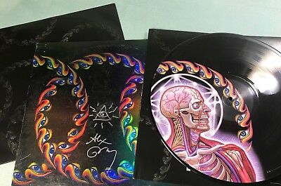 TOOL VINYL LATERALUS Signed Alex Gray 2LP Limited Edition