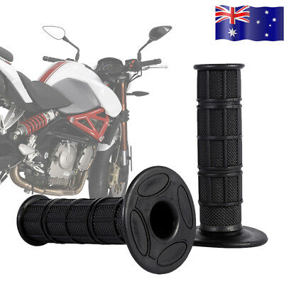 "22mm 7/8"" Silicone Soft Handle Bar Hand Grips Cover for Pit Dirt Bike Motorcycle"