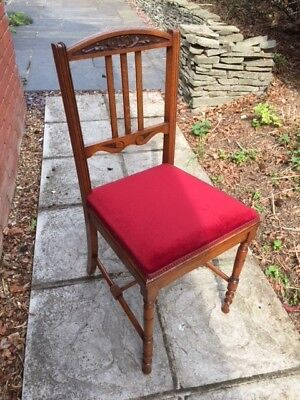 Edwardian Oak Dining Chair