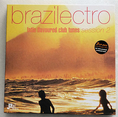 3LP box brazilectro - latin flavoured club tunes session 2 nMINT