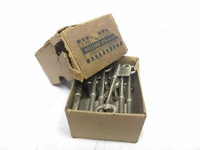 NOS Vintage ILCO Skeleton Keys Malleable Iron Blanks 11AM (Set of 26)