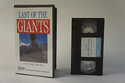 Last Of The Giants Union Pacific 1992 Steam Pentrex Trains Vhs  Movie Rails To