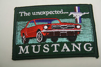 Aufnäher Patch Ford Mustang Pony The unexpected Rockabilly USA Car V8