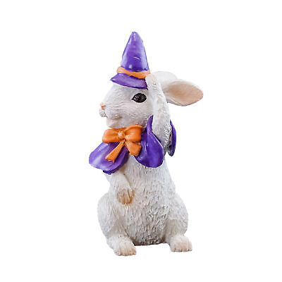 My Fairy Gardens Mini - Halloween Bunny In Witch Costume - Supplies