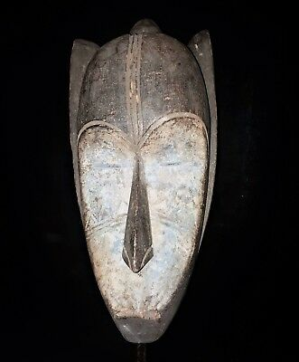 Old Tribal Fang Mask Gabon Fes-Gb 1266