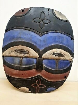 Old Tribal Teke Shield Mask Gabon fes-2344