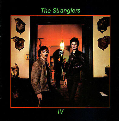 The Stranglers Rattus Norvegicus 1977 Music Album Cover Canvas Art Poster Print