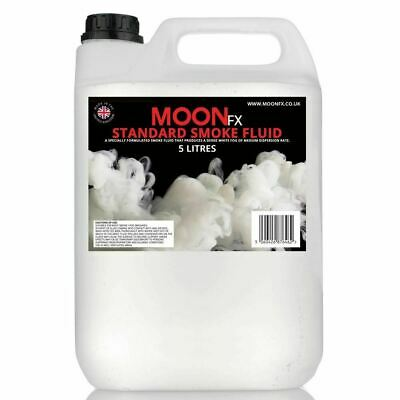 MoonFX Standard Smoke Fluid 5 Litres - High Quality Smoke Fog Machine Liquid 5L