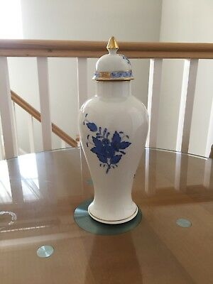 Herend Hungary Hand Painted Porcelain  Vase