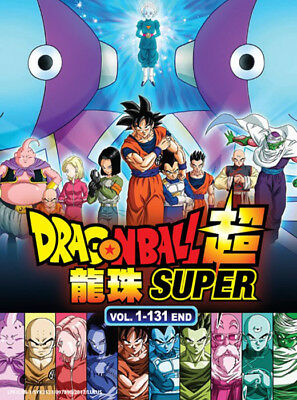 Anime DVD Dragon Ball Super Complete Series (Vol.1-131 End) Eng Sub + Free DVD