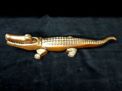 1940's 1950's FIRESIDE CROCODILE Ornament Nutcracker