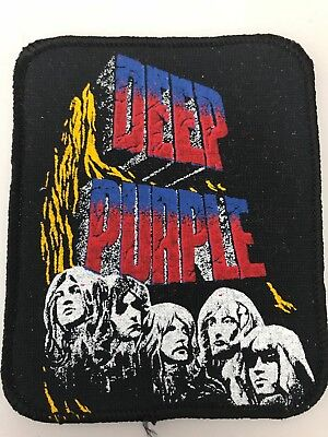 Deep Purple Patch 8x10 cm , Original !!  80er Aufnäher Hard Rock Heavy Metal